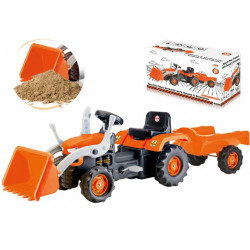 Tractor Pedal Operated With Trailer & Excavator