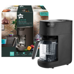 Tommee Tippee Quick Cook Baby Food Maker - Black