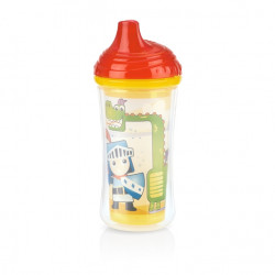 Nuby Insulated Click-it Hard Spout Cup 270ml - Red