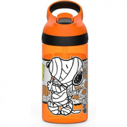 Zak Designs The Great Pumpkin Charlie Brown Halloween 16oz  Atlantic Bottle