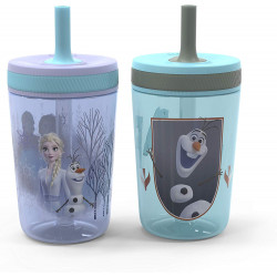 zak Frozen 2 Boy Lines 15oz Single Wall Leakproof Straw Kelso Tumbler