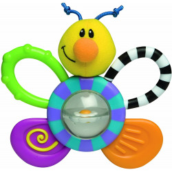 Nuby Belly Buddy Teether Toy, Bee