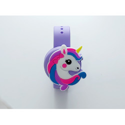 Hygiene Band For Children, Purple Unicorn
