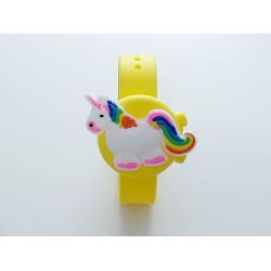 Hygiene Watch For Children , Yellow-Unicorn