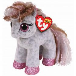 Ty Beanie Boos Babies Cinnamon Spotted Pony Soft Toy