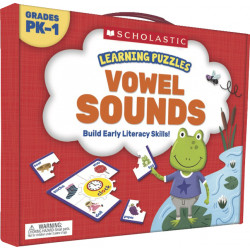 Scholastic Learning Puzzles: Vowel Sounds