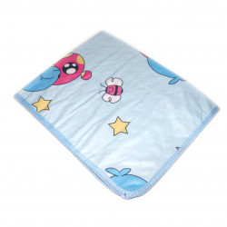 Baby Changing Mattress Sheet - Blue