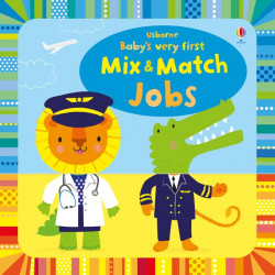 Usborne Baby's Very First Mix and Match Jobs