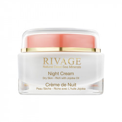 Rivage Night Cream with Jojoba  - 50 ml