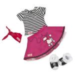 Our Generation Regular Outfit Poodle Skirt Bop Til You Drop Outfit