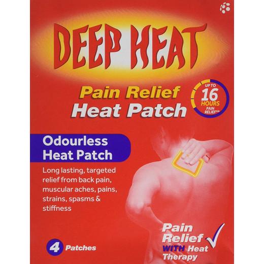 Deep Heat Pain Relief Shoulder Patch 4pk