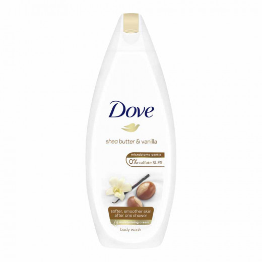 Dove Purely Pampering Shea Butter and Vanilla  Body wash 500 ml
