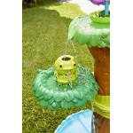طاولة مائية على شكل زهرة  مع زهرة متفتحة وأكثر من 10 ملحقات من ليتل تايكس