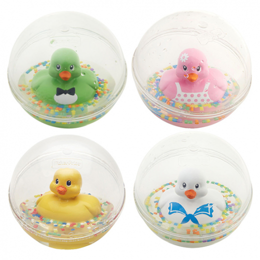 Fisher-Price Water Mates Balls with Duck Inside, Assorted Models - Random Selection