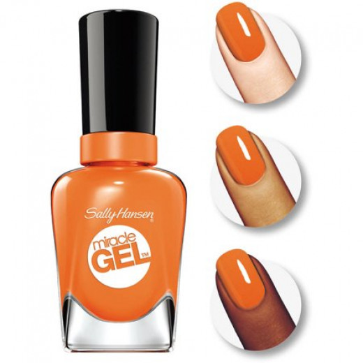 Sally Hansen Miracle Gel Nail Color, Electra-cute