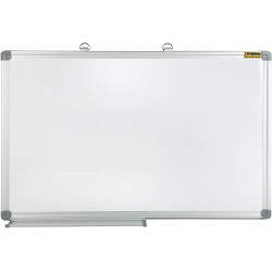 Whiteboard 70 x 50 cm Writing Board Magnetic + 1 Eraser free