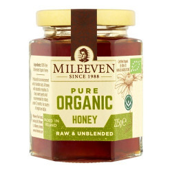 Mileeven Pure Organic Honey 225g
