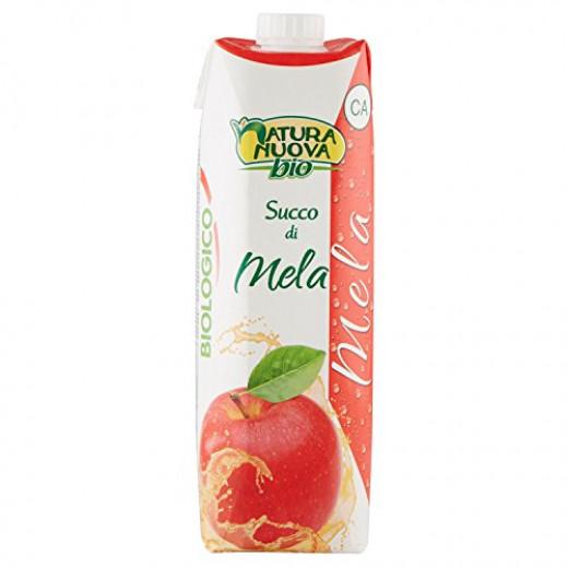 عصير نكتار تفاح عضوي 1 لتر منناتشورا نوفا