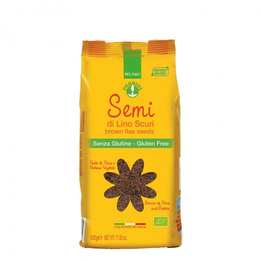 Probios Organic Brown Flaxseeds 500g