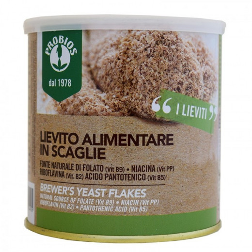Probios Easy To Go  Brewer`s yeast in flakes 125gr
