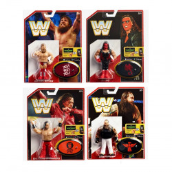 WWE  Dean Ambrose Retro App 4.5 Inches Action Figure Toy, Assortment, 1 Pack, Random Selection