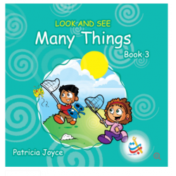 Look and See Series - LOOK AND SEE Many Things BOOK 3 - 35 Pages - 20x20 - Carton Cover