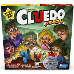 Hasbro Cluedo Junior Clue Board Game for Kids Case of The Broken Toy 5