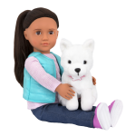 Our Generation Doll with Pet - Cassie