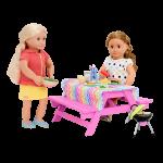 Our Generation Picnic Table Set Accessory Set