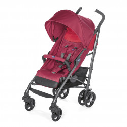 chicco Pushchair Stroller Lite Way 3 - Red Berry