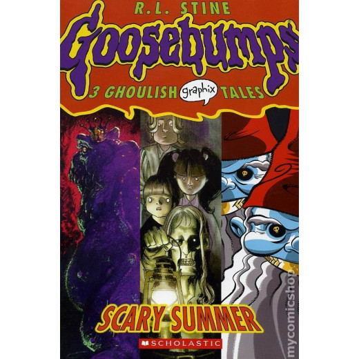 Scary Summer (Goosebumps Graphix, No. 3)