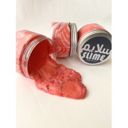 YIPPEE! Sensory Candy Cane Slime by Natalie - Red Color