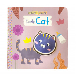 Dar Al Maaref Candy Cat - Squishy Squishy book