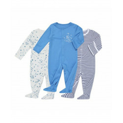 Colorland - Baby Romper 3 Pieces In One Pack - 6-9 Months