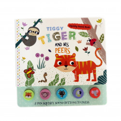 Dar Al Ma'aref- Tiggy Tiger and his Peers - Squishy Sound Book