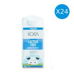 Koita Full Fat Lactose Free 200 ml, Pack of 24
