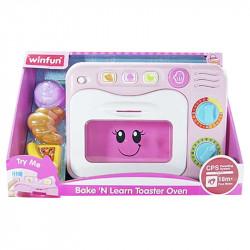 Winfun Bake 'n Learn Toaster Oven, Purple