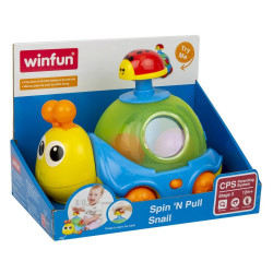 Winfun Spin 'n Pull Snail