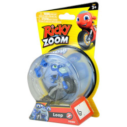 Tomy Ricky Zoom Core 4 Scootio Whizzbang Toy Scooter 3-inch Action Figure, Blue