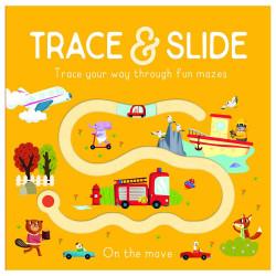 Usborne - Trace & Slide : On the Move Board book