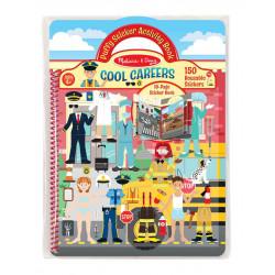Melissa & Doug Cool Careers Puffy Sticker Activity Book