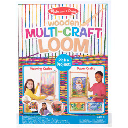 Melissa & Doug Wooden Multi Craft Loom