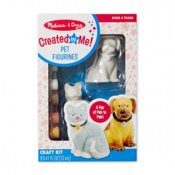 Melissa & Doug Created by Me! Pet Figurines