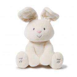 دمية بتصميم شكل الأرنب ذات أصوات جميلة للغناء