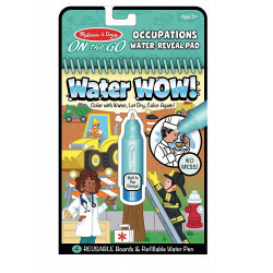 Melissa & Doug Out The Go Occupations Water Reveal Pad