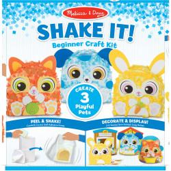 Melissa & Doug Shake It! Beginner Craft Kit - Deluxe Pets