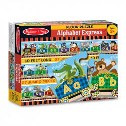 Melissa & Doug Alphabet Express Floor Puzzle (27pc)
