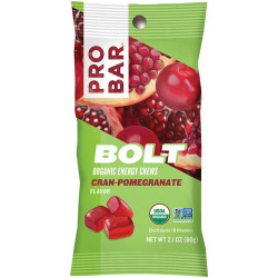 PROBAR® 1054 - 2.1 oz. Bolt Cran-Pomegranate Organic Energy Chews