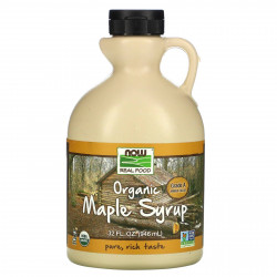 Maple Syrup, Organic Grade A Amber Color ( 946ml )