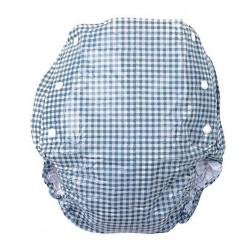 Farlin Baby Plastic Diaper Cover Pants Blue 3-6 kg - Small